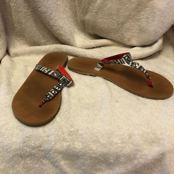 c331a9ee038c43 Black   White Studded Sandal